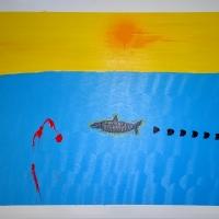 Von der Sonne energetisiert ignoriert den Köder des Anglers -KLEIIN